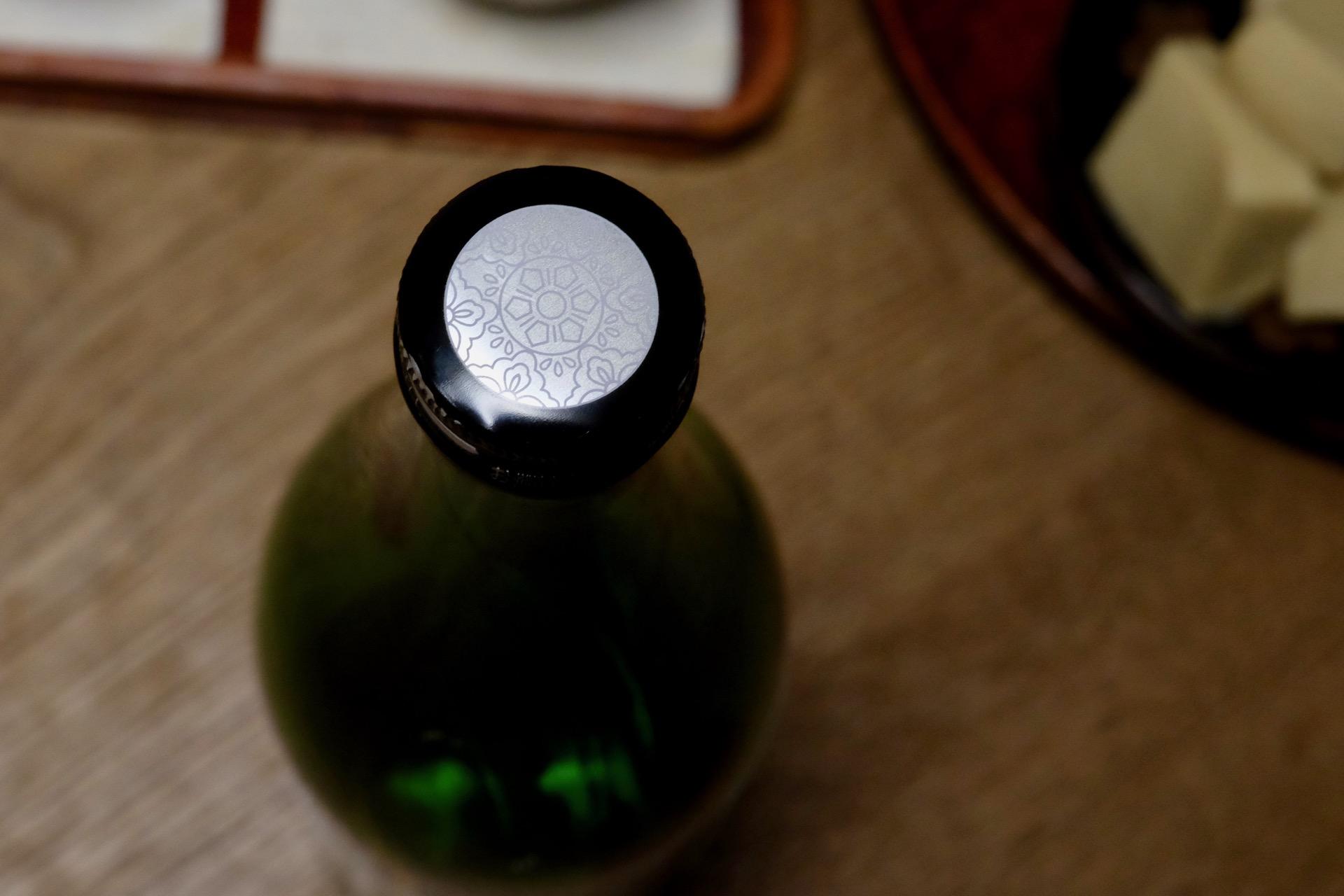 大山 特別純米酒 十水のキャップ