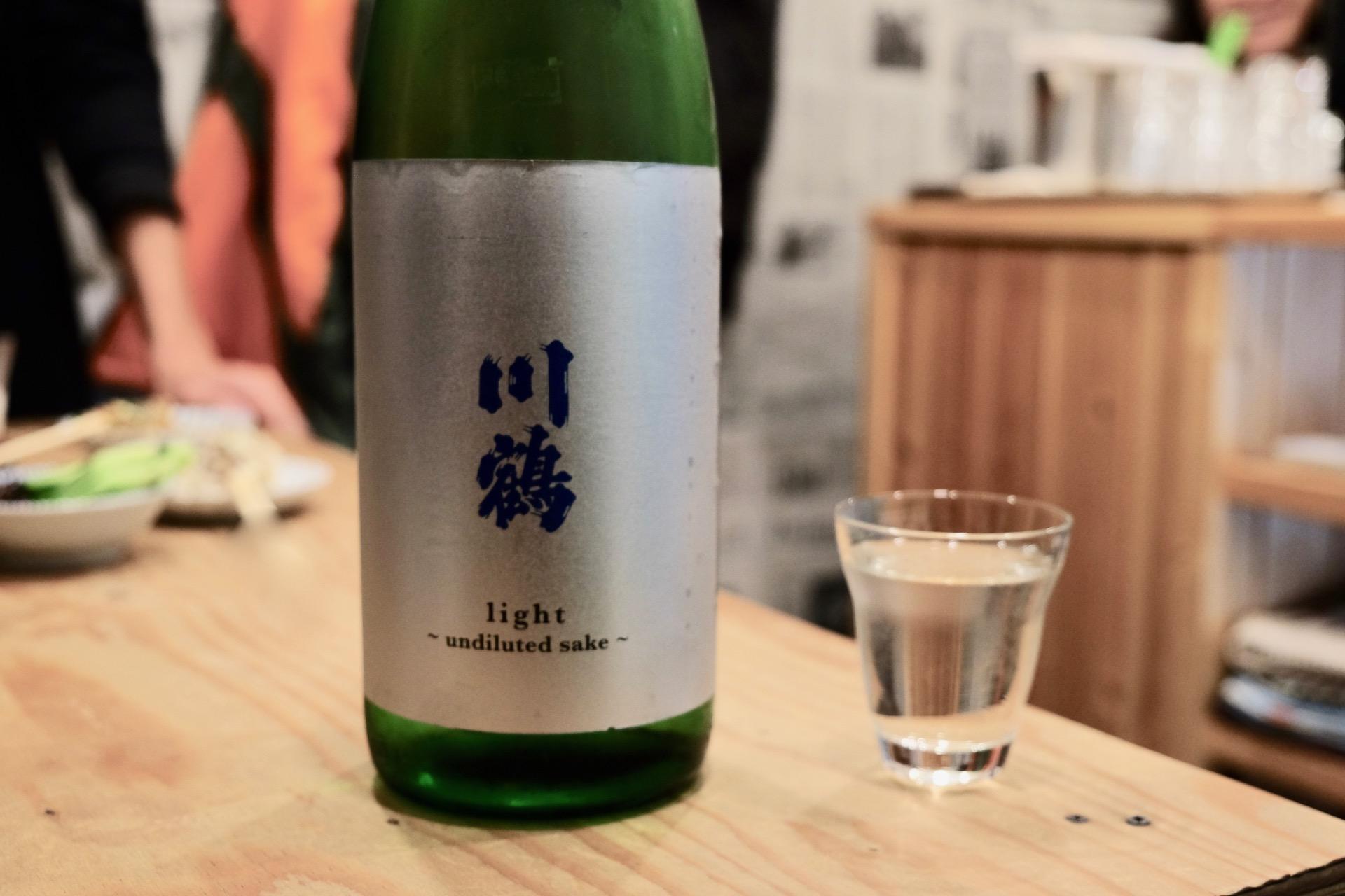 川鶴 light 〜undiluted sake〜|日本酒テイスティングノート