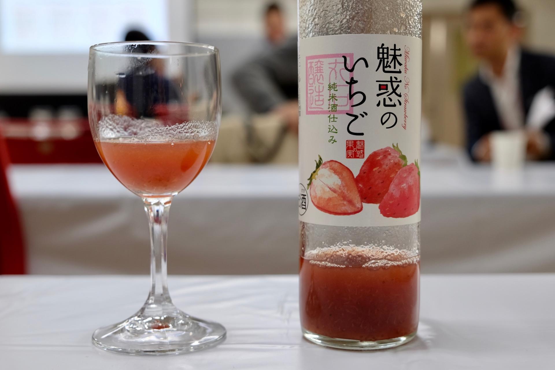 魅惑のいちご 丸石醸造の和リキュール|FRUIT SAKE Party
