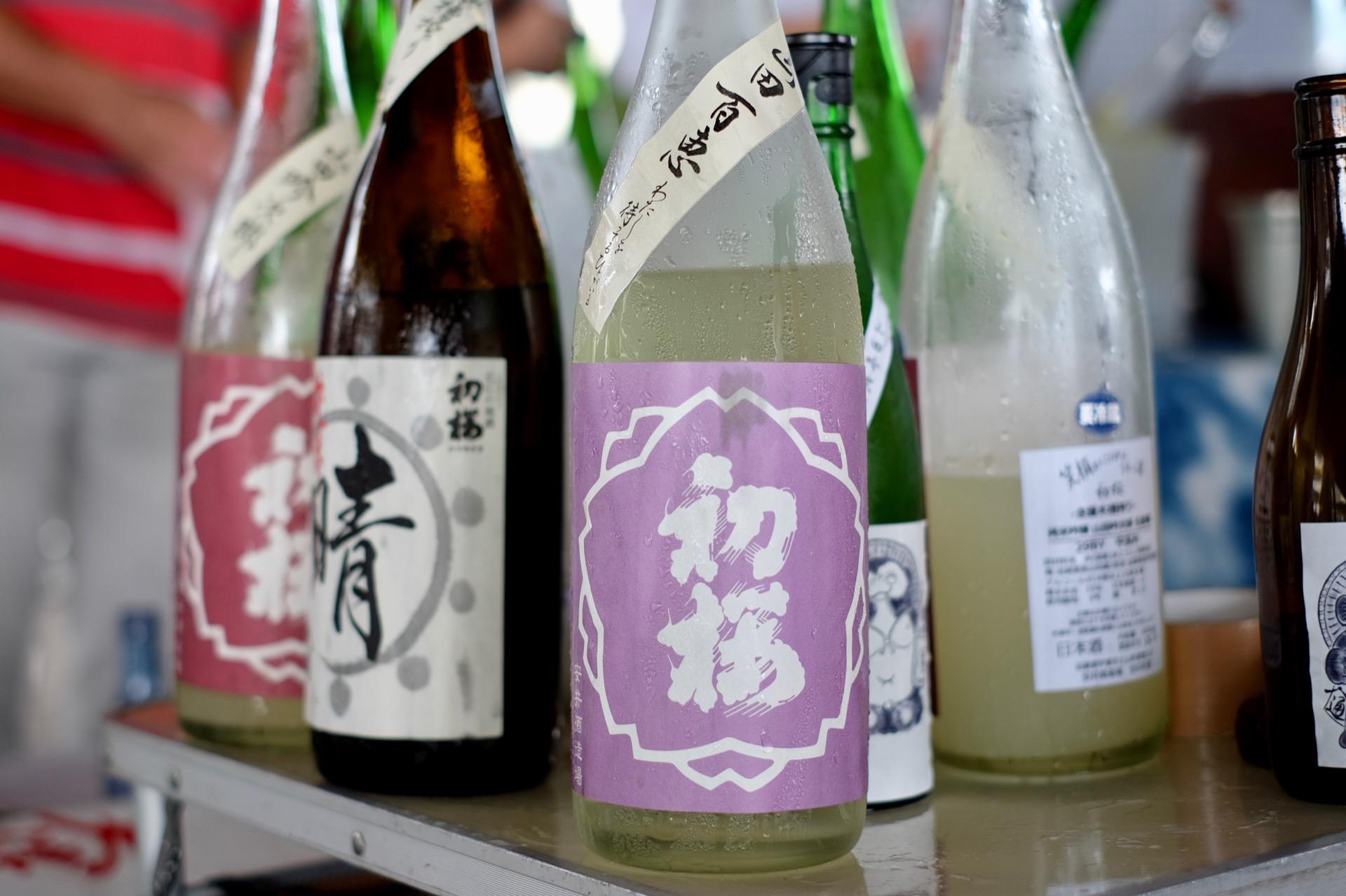 初桜 純米吟醸 山田百恵 29BY を浜大津こだわり朝市で|日本酒テイスティングノート