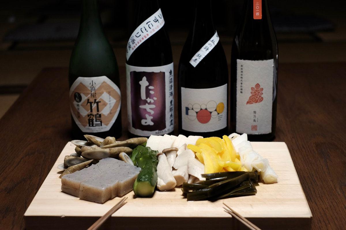 ぬか漬けと日本酒のマリアージュ