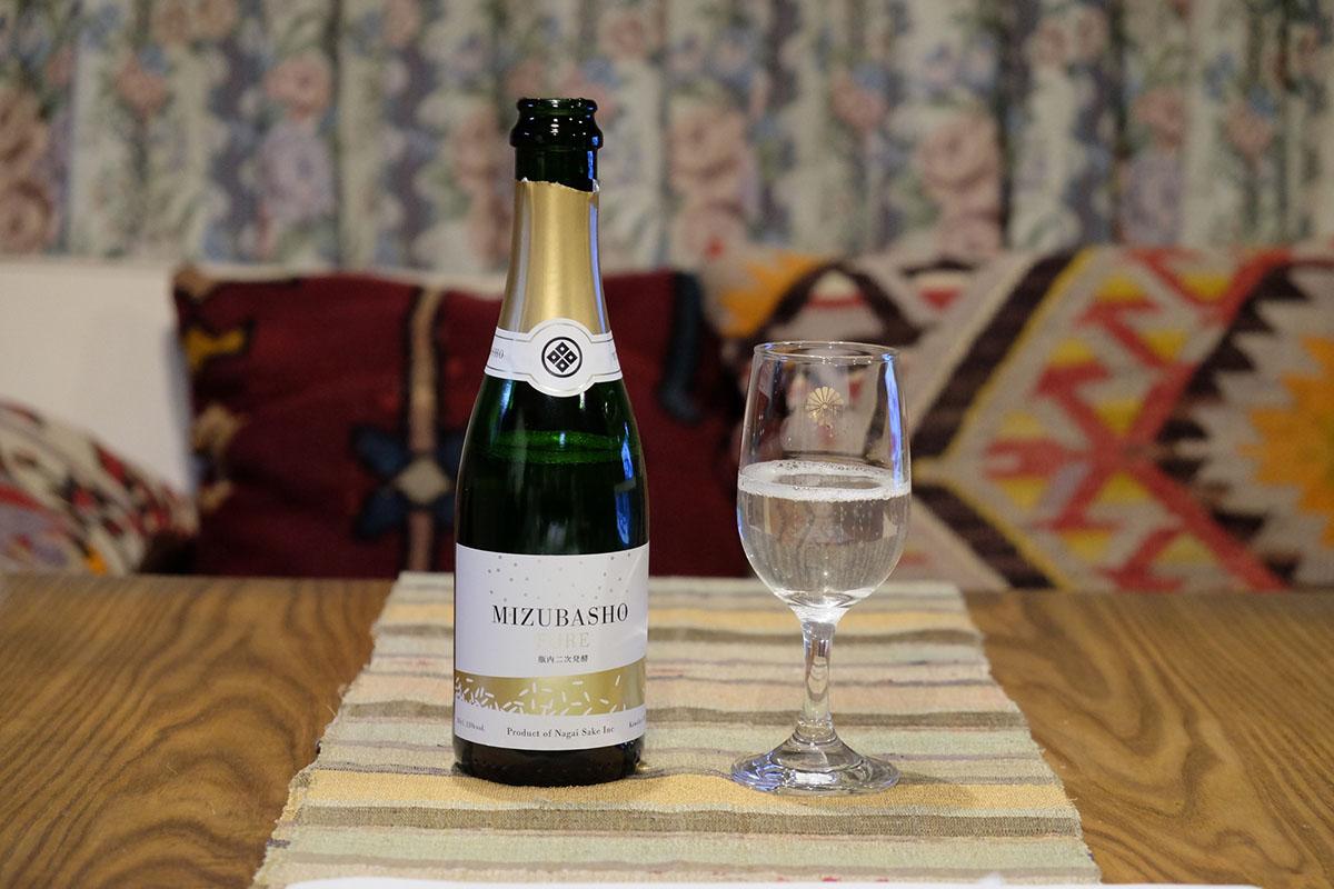 MIZUBASHO PURE 瓶内二次発酵|日本酒テイスティングノート