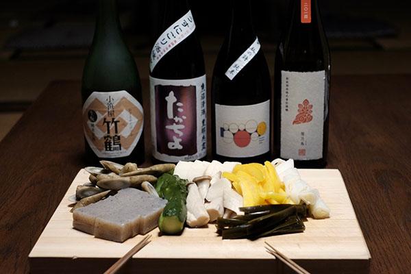 ぬか漬けと日本酒