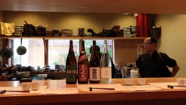 「酒と料理を組み立てる」日本酒レッスンその11 お酒ラインナップ