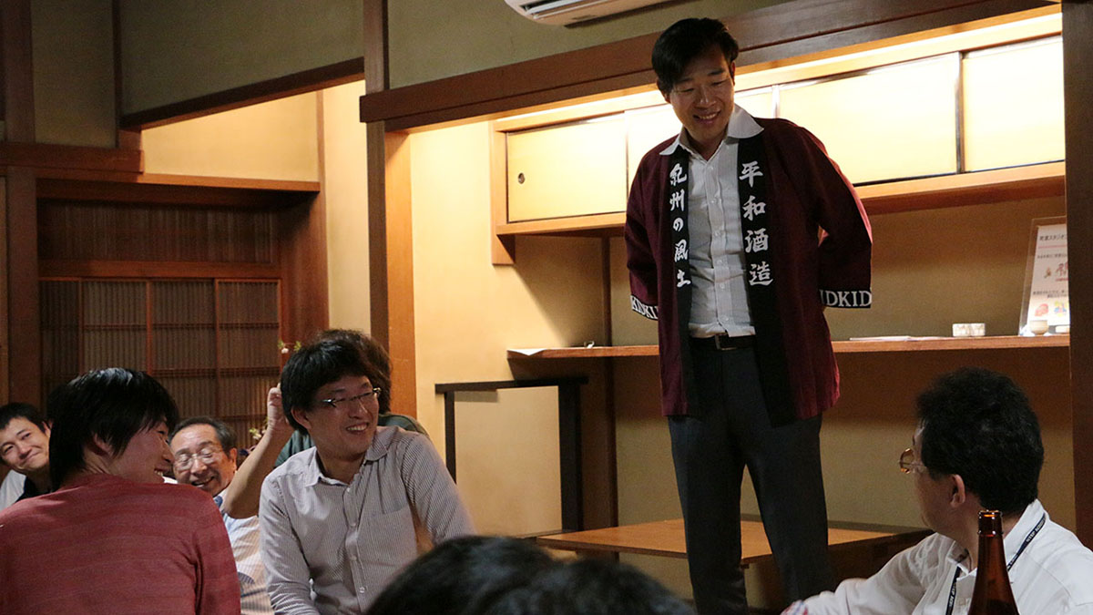 町家でお酒を楽しもう!No.16 紀州のお酒を楽しむ(京都開催日本酒イベントレポート