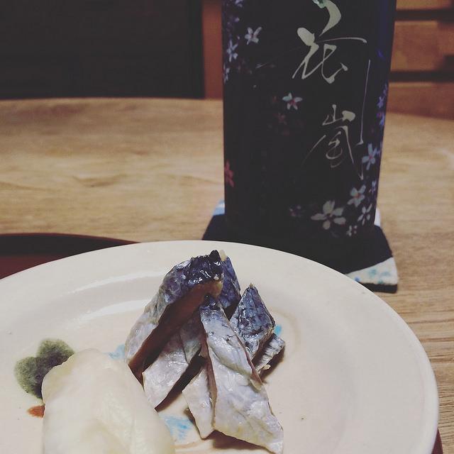 にしんずしと日本酒