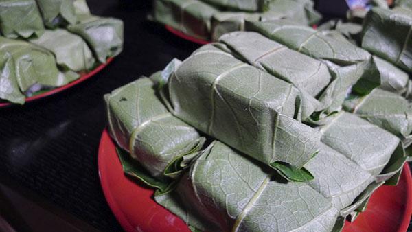 奈良といえば柿の葉寿司