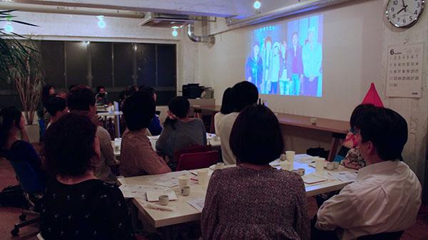 北川本家蔵元 物語動画の上映