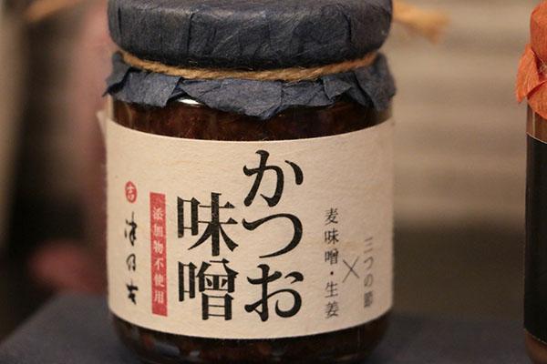 津乃吉の商品 かつお味噌