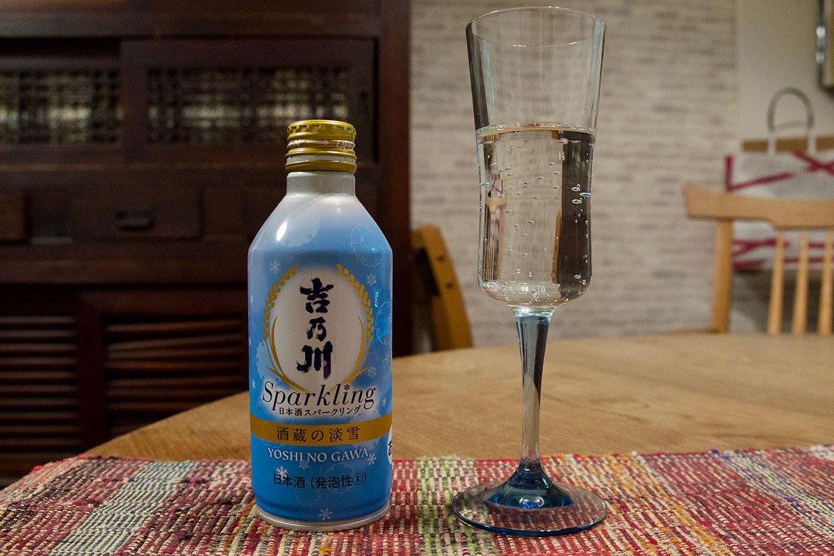 気軽に飲みたい!スパークリング日本酒「吉乃川 酒蔵の淡雪」レビュー