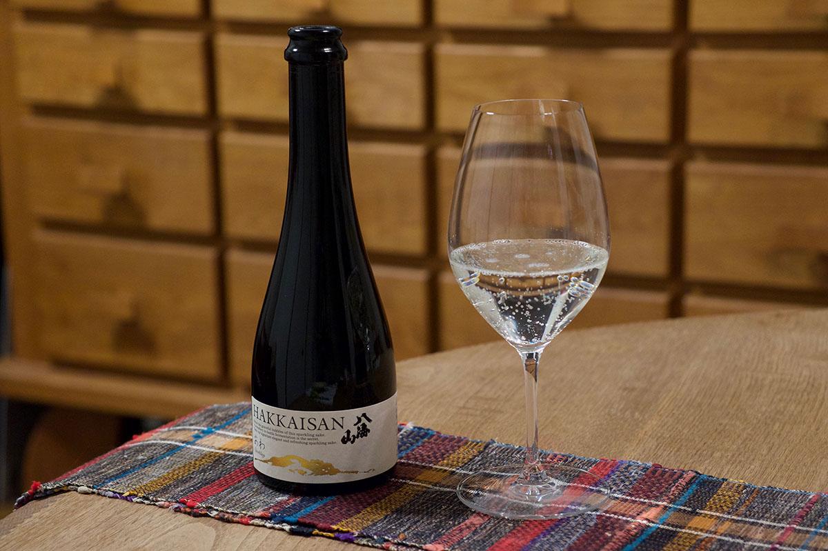 瓶内二次発酵酒 あわ 八海山|日本酒テイスティングノート