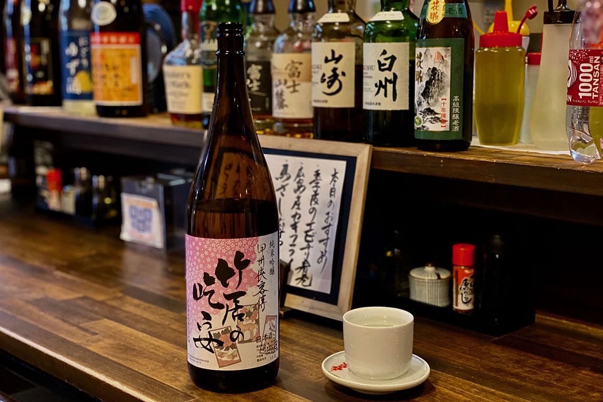純米吟醸 甲州侠客傳 竹居の吃安|日本酒テイスティングノート