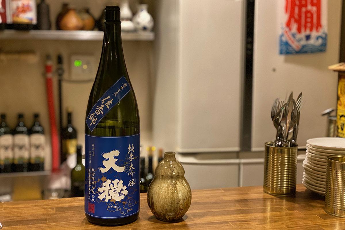 天穏 純米大吟醸 佐香錦|日本酒テイスティングノート