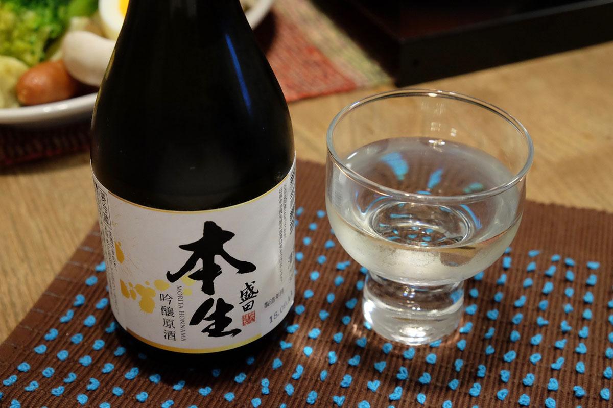 盛田 本生 吟醸原酒|日本酒テイスティングノート