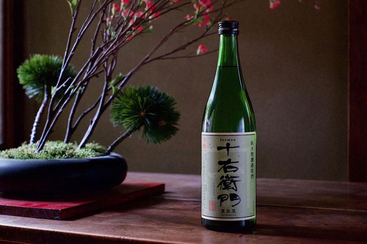 純米無濾過原酒 十右衛門(じゅうえもん)|日本酒テイスティングノート
