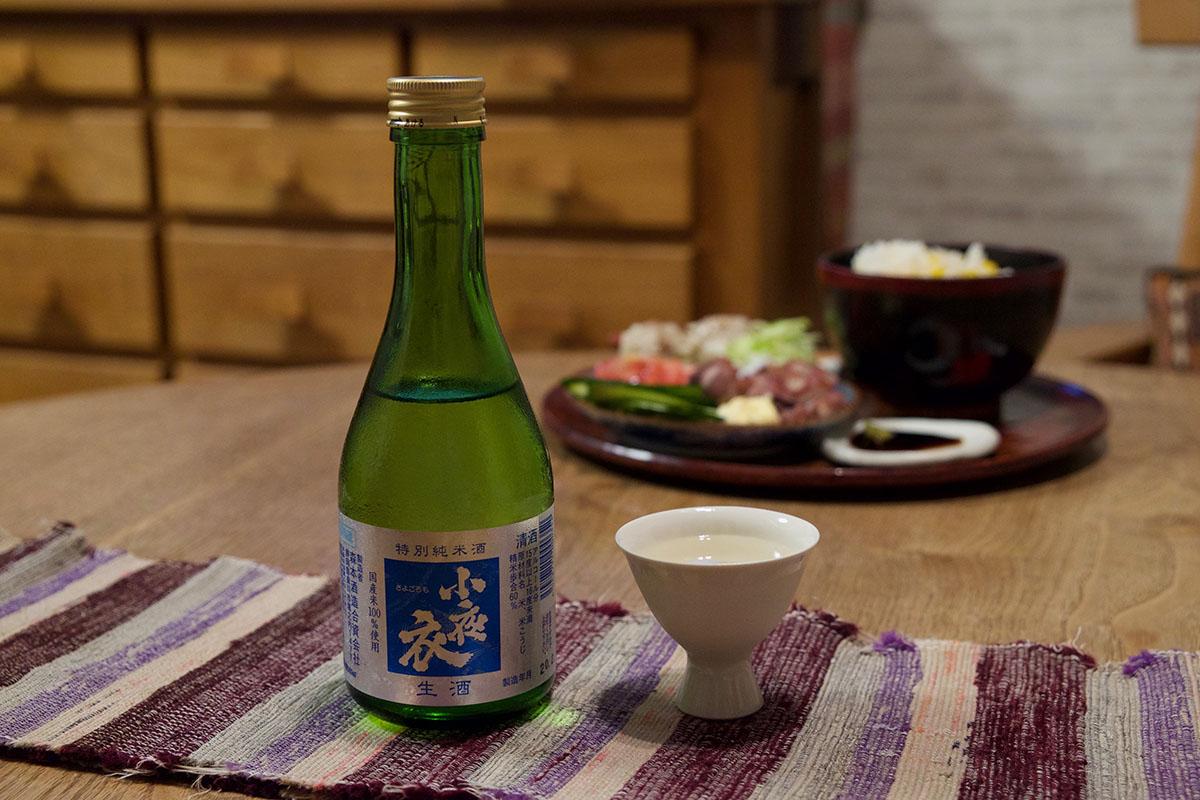 小夜衣(さよごろも)特別純米酒 生酒|日本酒テイスティングノート