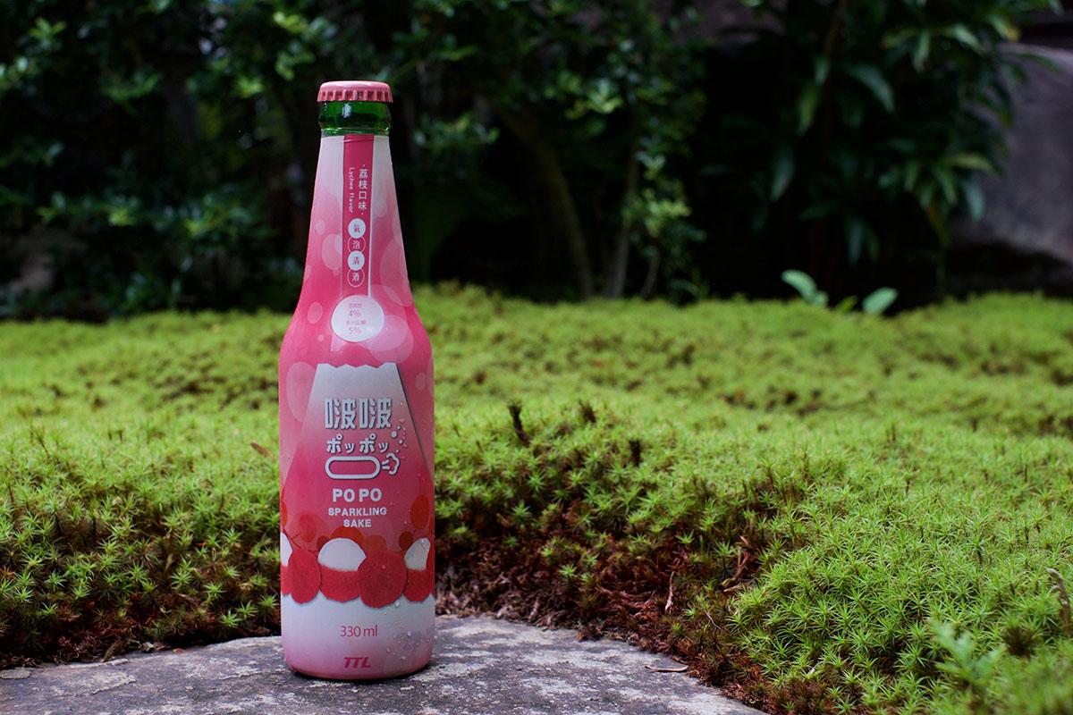 台湾の気候を感じながら飲みたい「啵啵氣泡清酒(荔枝口味) ポッポッ Sparkling Sake」世界のSakéテイスティングノート