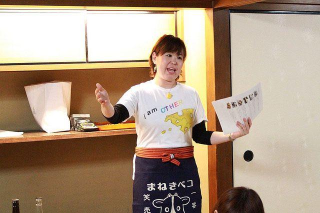 講師のチーズプロフェッショナル・飯田歩さん
