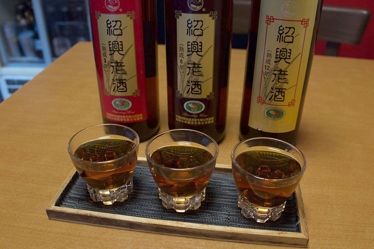 「紹興老酒」熟成3年、8年、12年を飲み比べ|紹興酒テイスティングノート