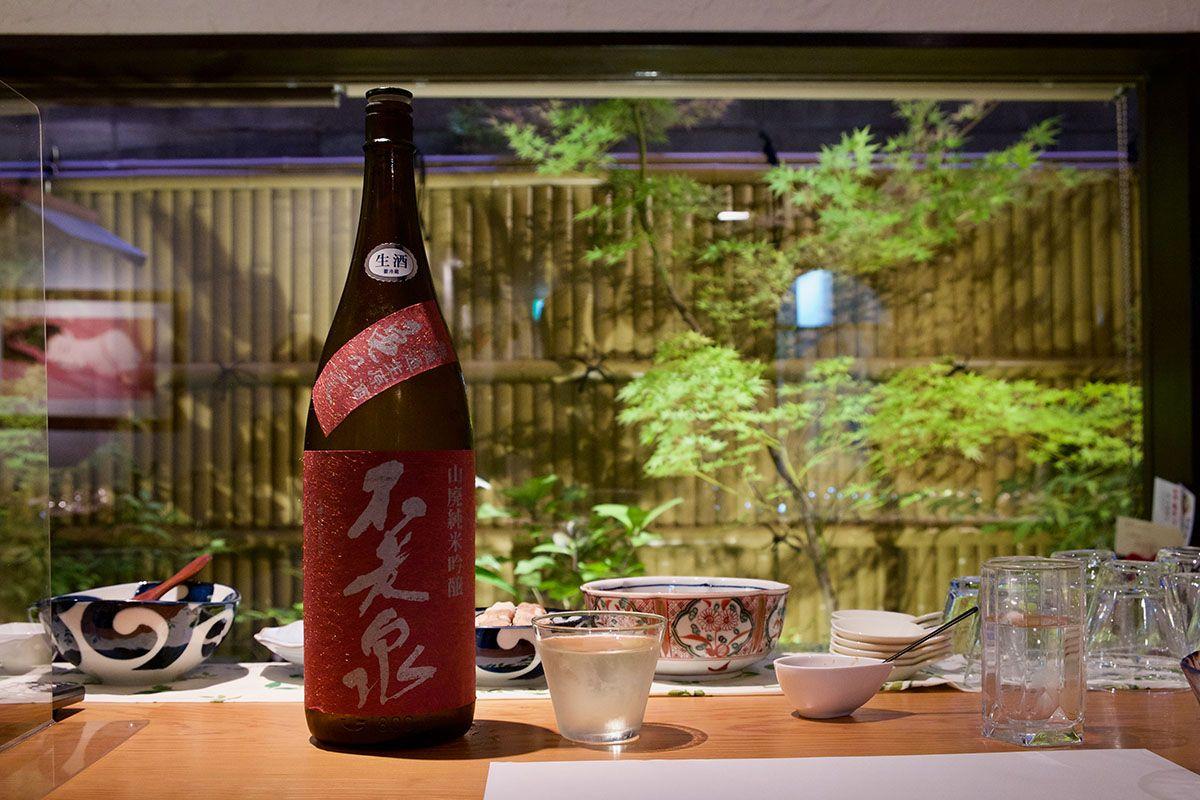 亀の尾らしいシャープさ「不老泉 山廃仕込 純米吟醸 亀の尾 無濾過生原酒」日本酒テイスティングノート