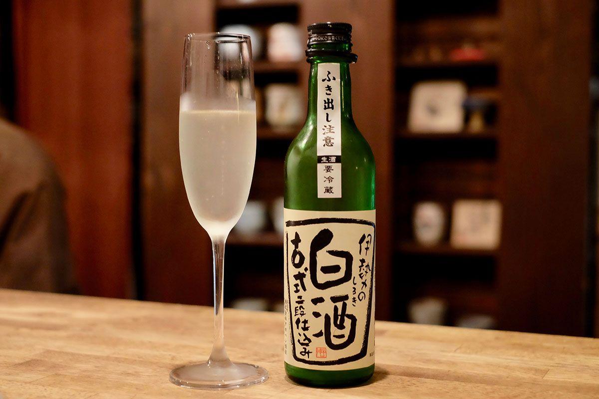 微発泡で爽やか「伊勢の白酒 古式二段仕込み」日本酒テイスティングノート