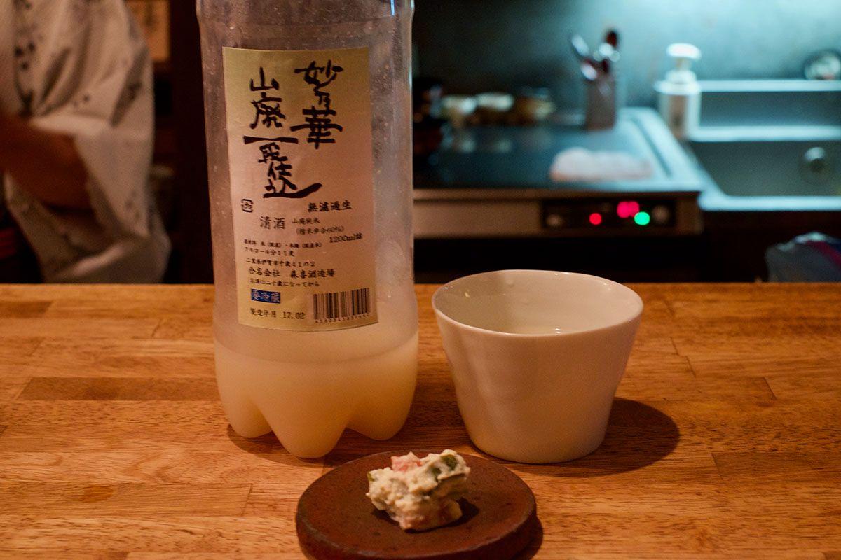 発酵が進んで複雑な味わいに「妙乃華 山廃一段仕込 無濾過生」日本酒テイスティングノート