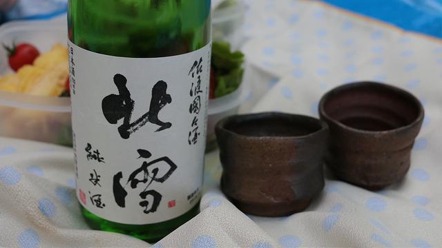 ピクニックで楽しむ日本酒