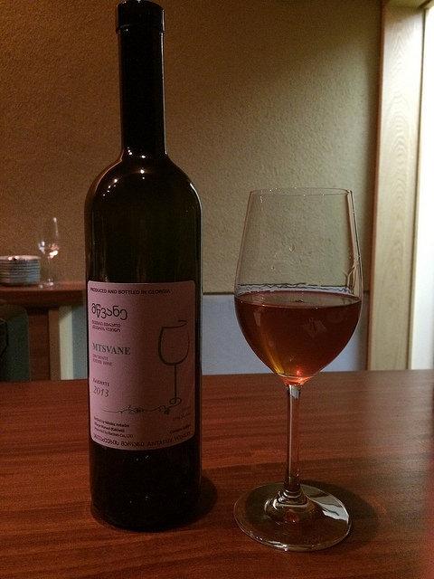 მწვანე Mtsvane グルジアワイン