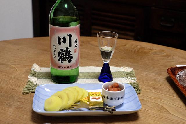 川鶴讃州おいでまい純米原酒