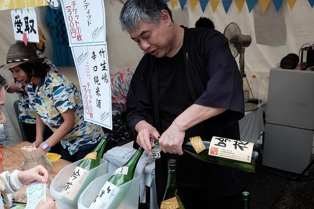 竹生嶋 吟花 Blended 純米吟醸原酒