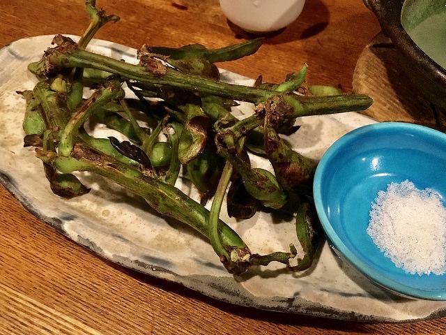 ワイルドな枝豆