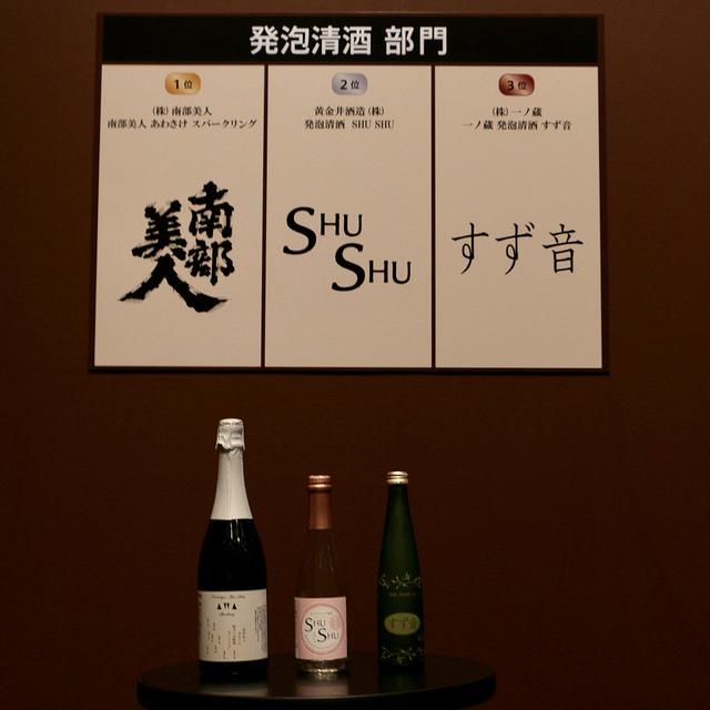発泡清酒部門 Sake Competition 2017