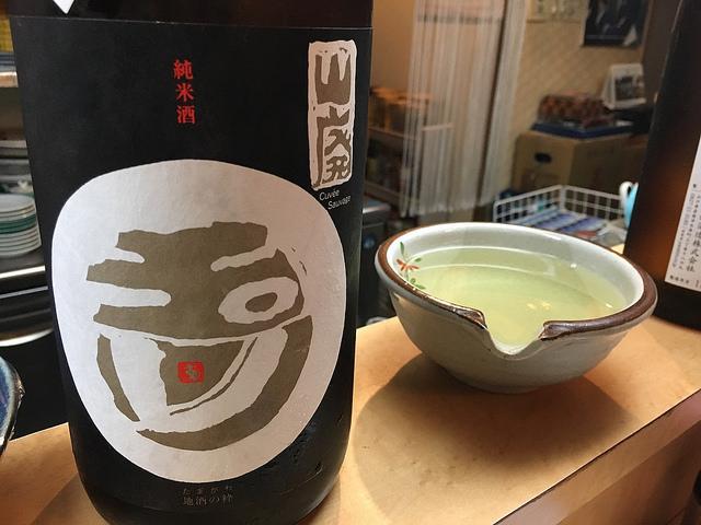 玉川 自然仕込み 純米酒(山廃)白ラベル 無濾過生原酒 28BY