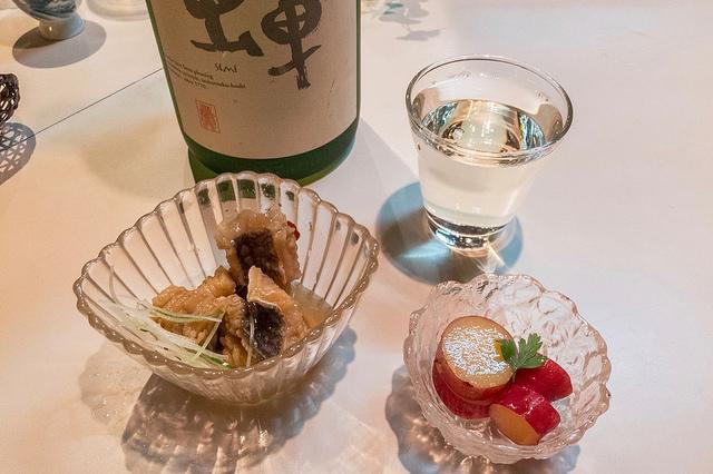純米吟醸酒 蝉とアテ