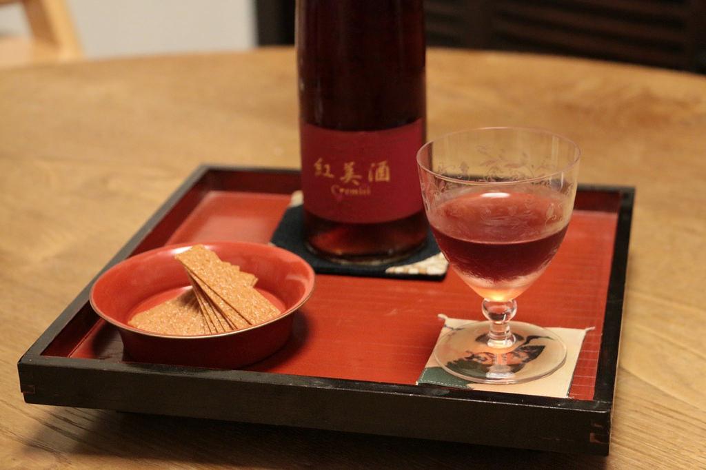 紅美酒 Cremisi(クレミシ)神杉酒造|みりんテイスティングノート