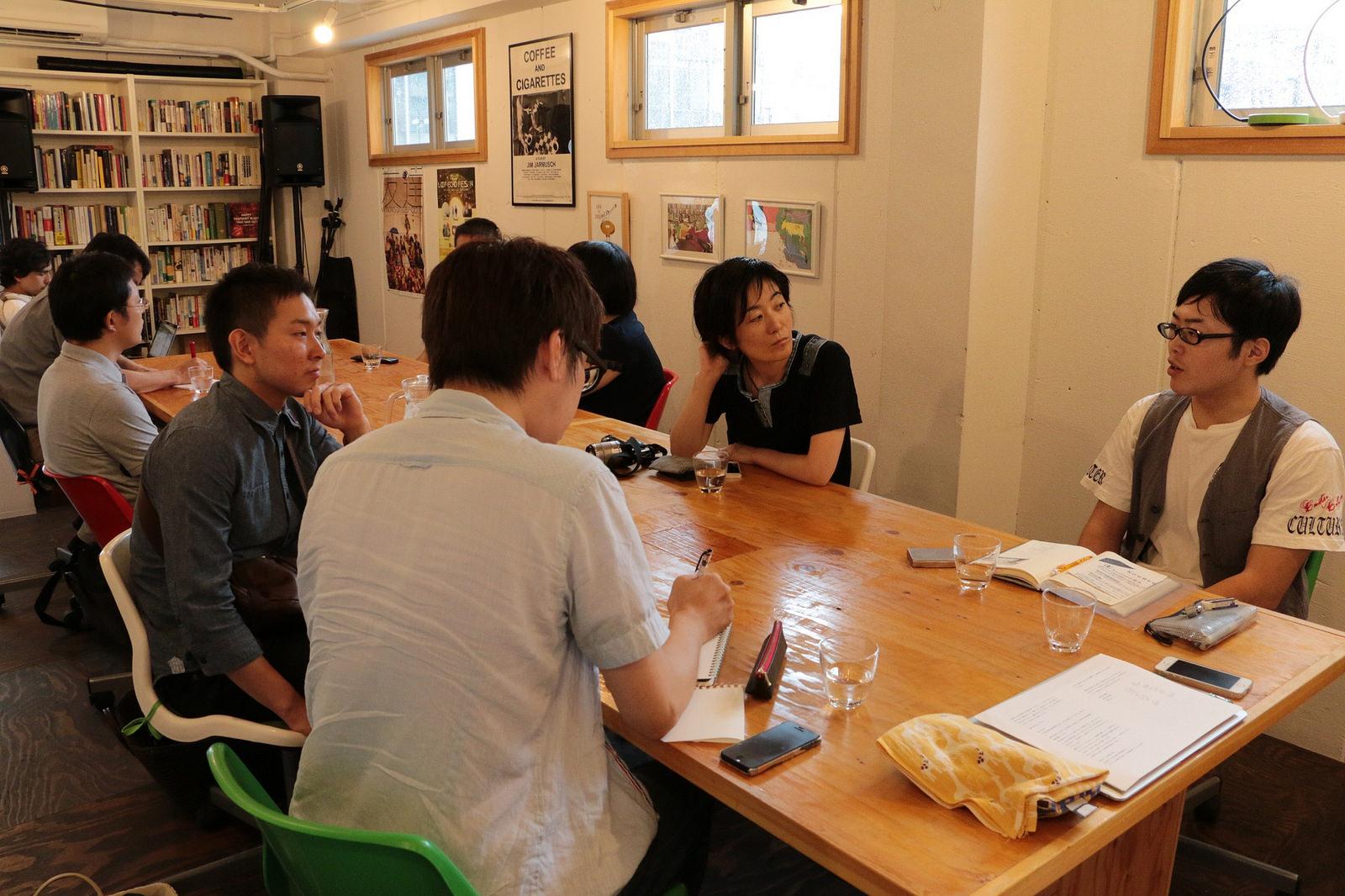 日本酒のものがたりワークショップNo.1と「よるカフェ」@チルコロ京都 イベントレポート