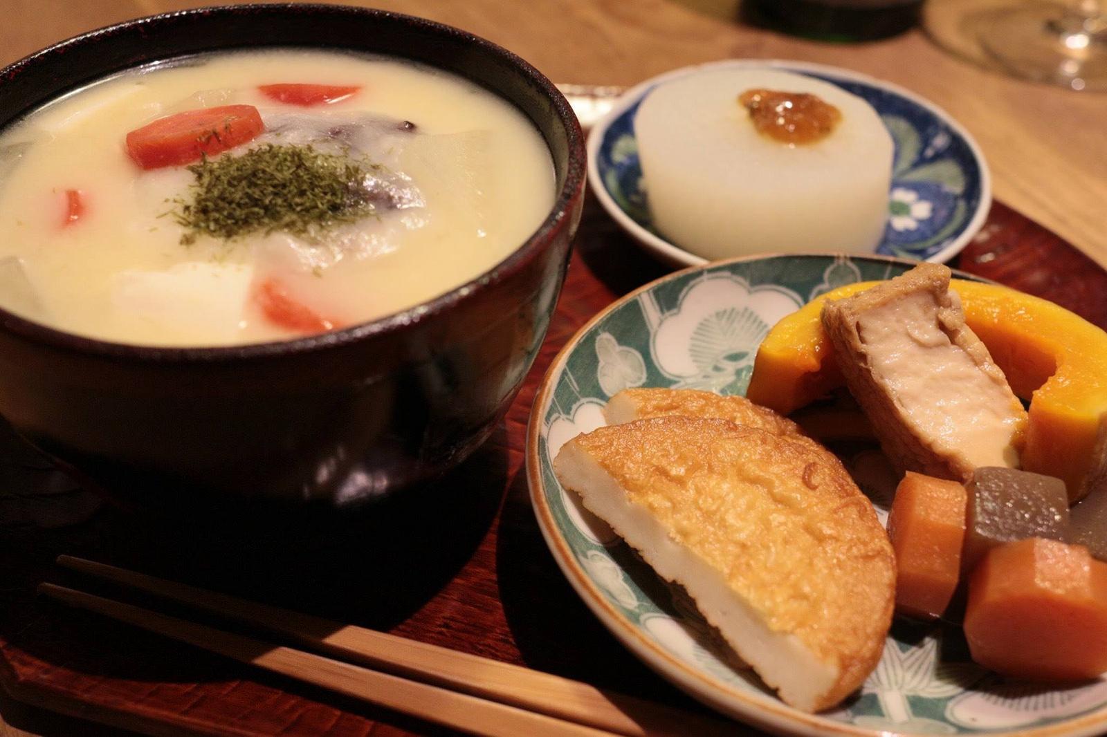 香川名物「あんもち雑煮」にあう日本酒を求めて