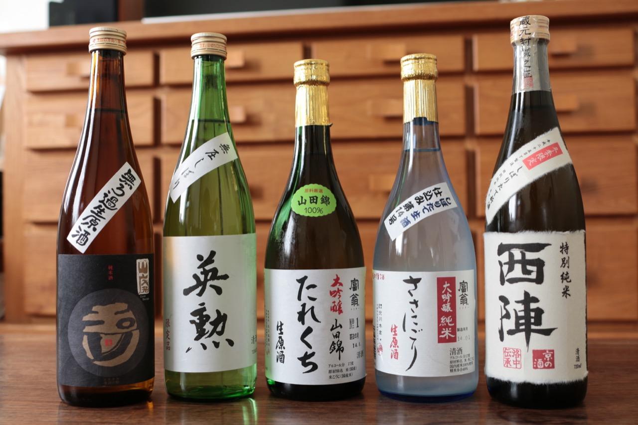 肩ラベル「たすき」で選ぼう、しぼりたての日本酒を!