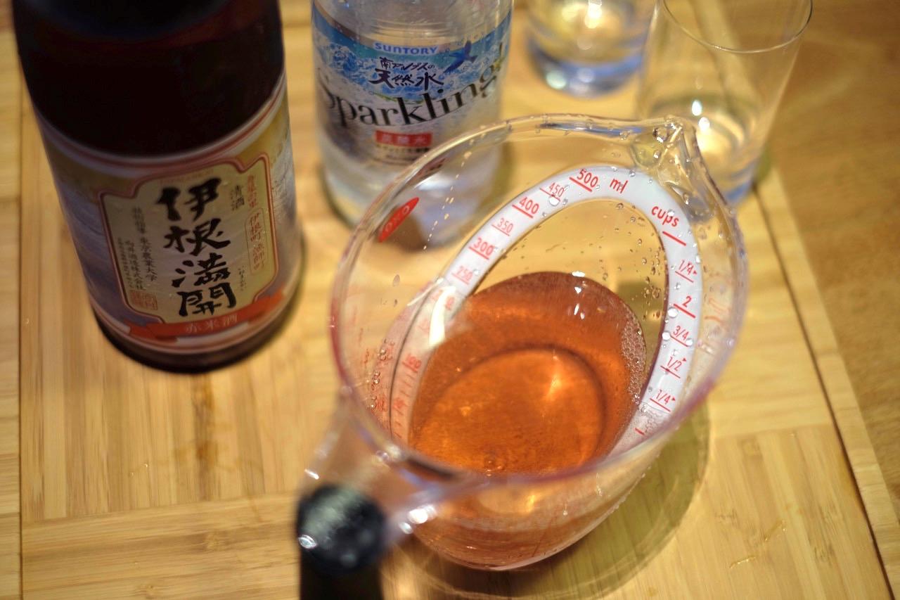 日本酒を割るということ