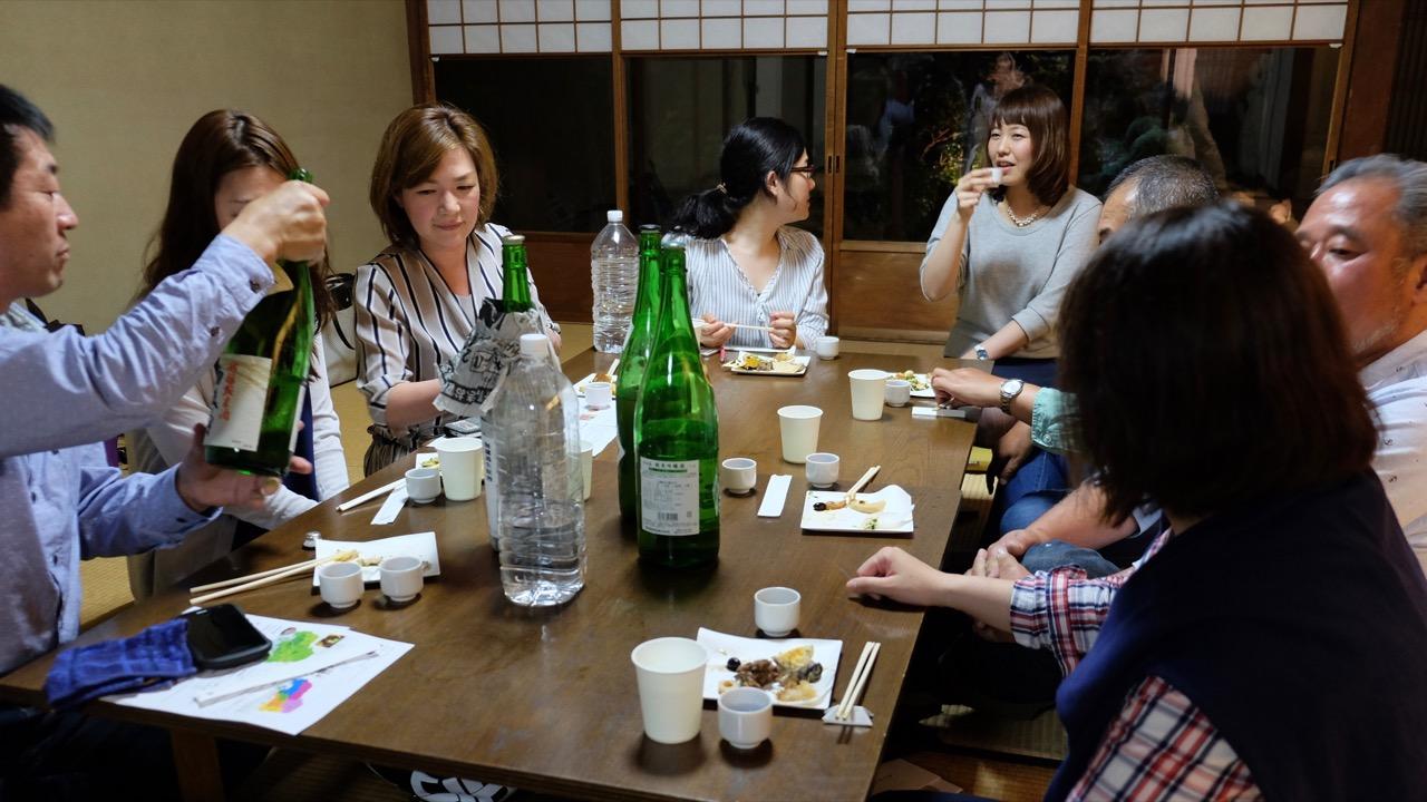 町家でお酒を楽しむ会 No.36 酒どころ広島の酒を楽しむ(京都開催日本酒イベントレポート)