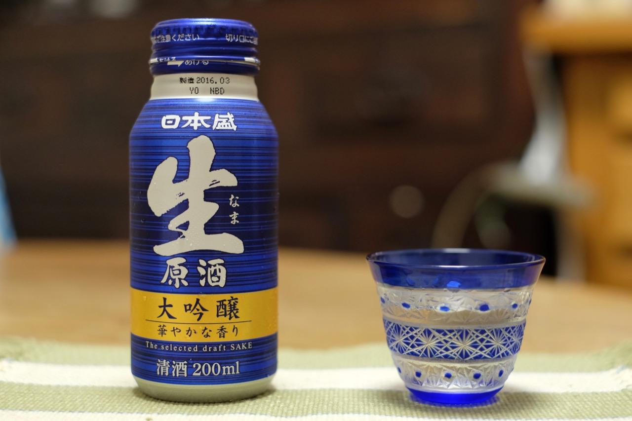 缶入り生原酒!? 日本盛生原酒|日本酒テイスティングノート
