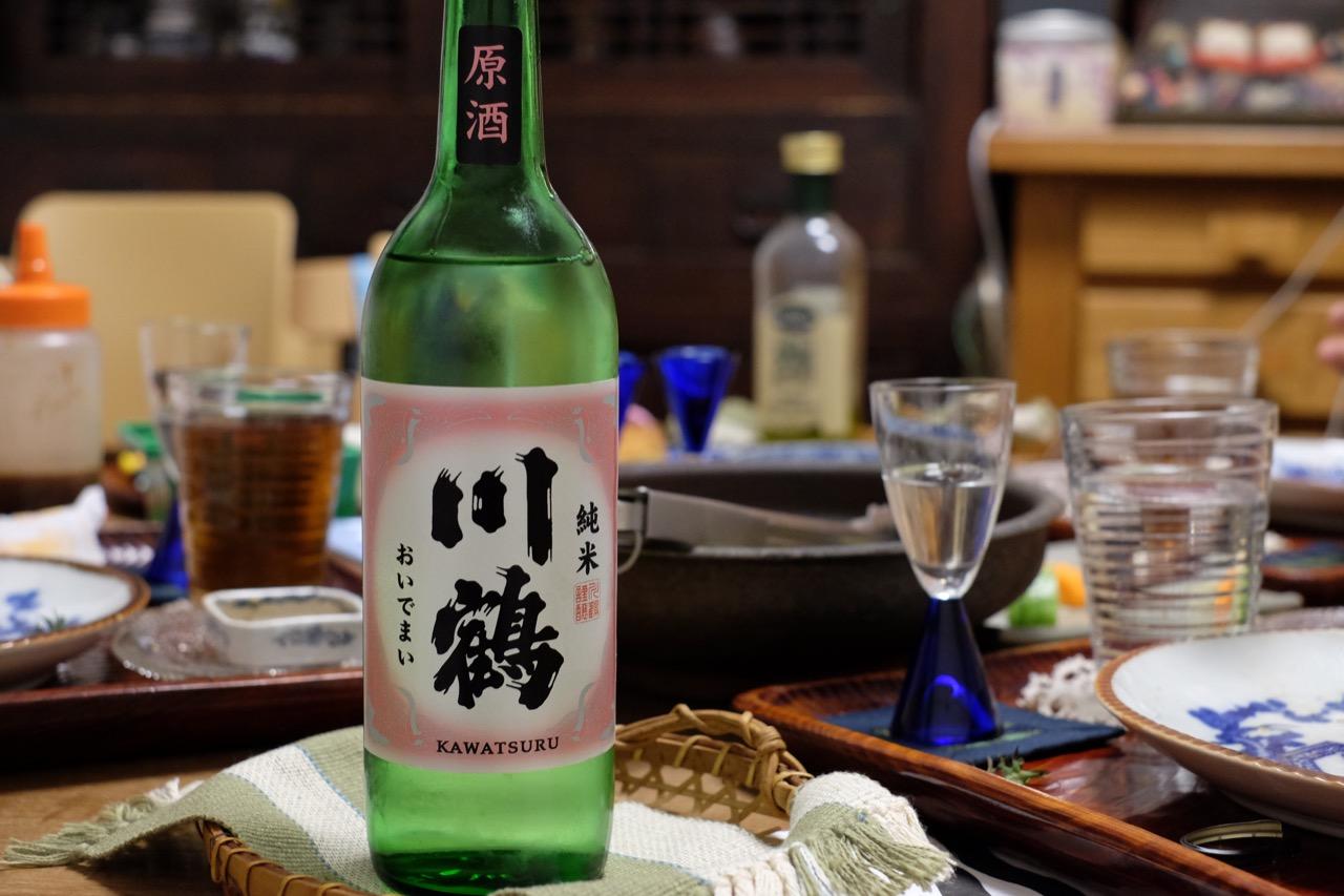 川鶴「讃州おいでまい 純米原酒」日本酒テイスティングノート