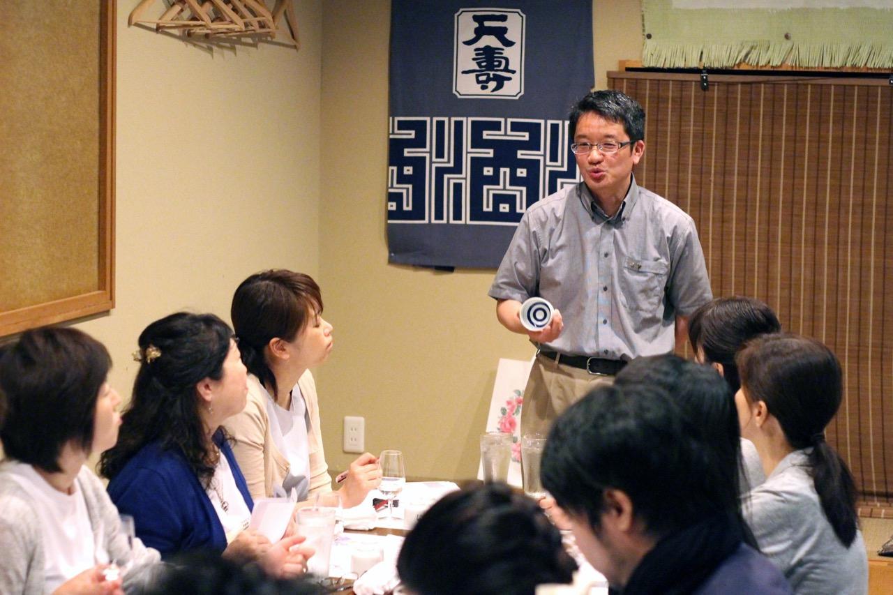 「日本酒テイスティングのきほん・香り」日本酒レッスンその8 イベントレポート