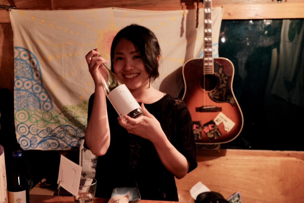 Mariko's Sake Bar で「まりこの酒」を楽しみました!