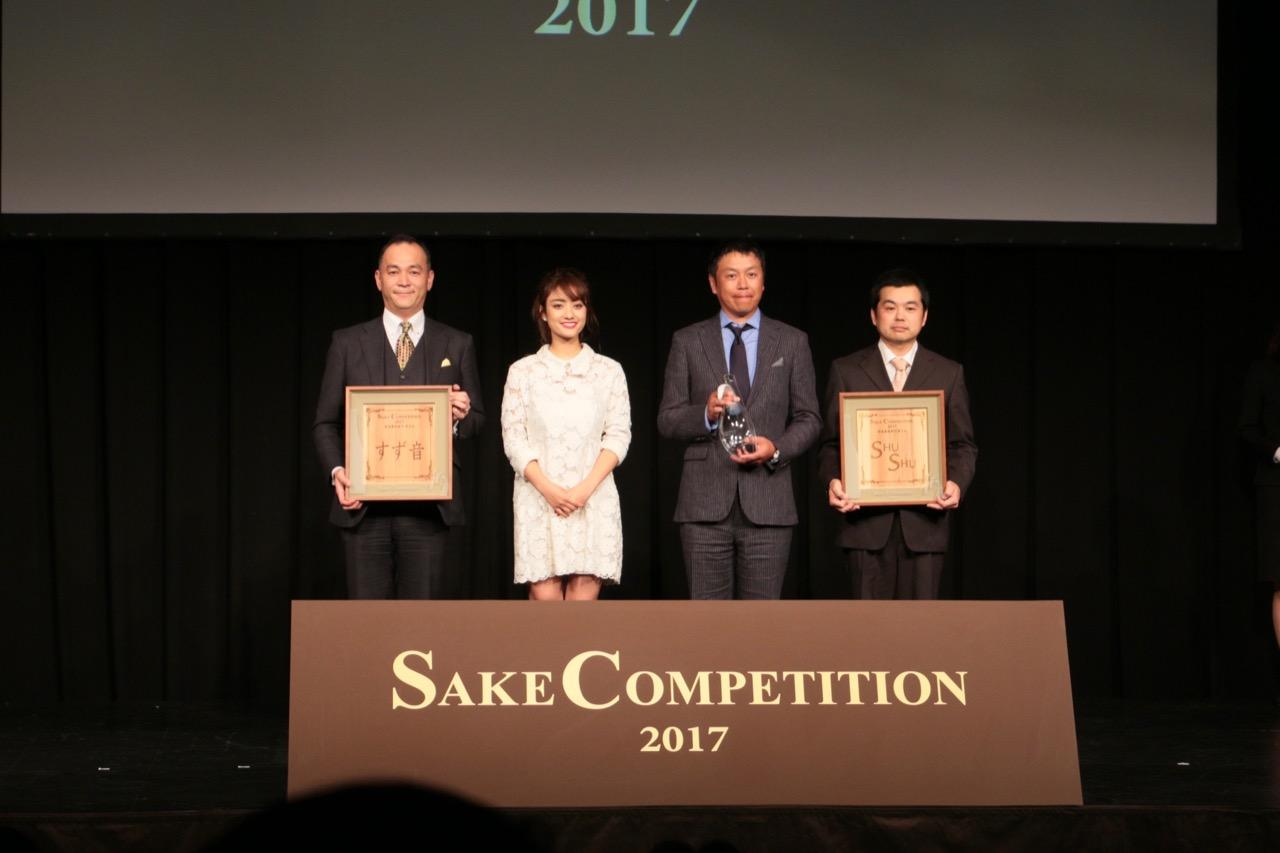 新ジャンルが確立するか Sake Competition 2017 発泡清酒部門