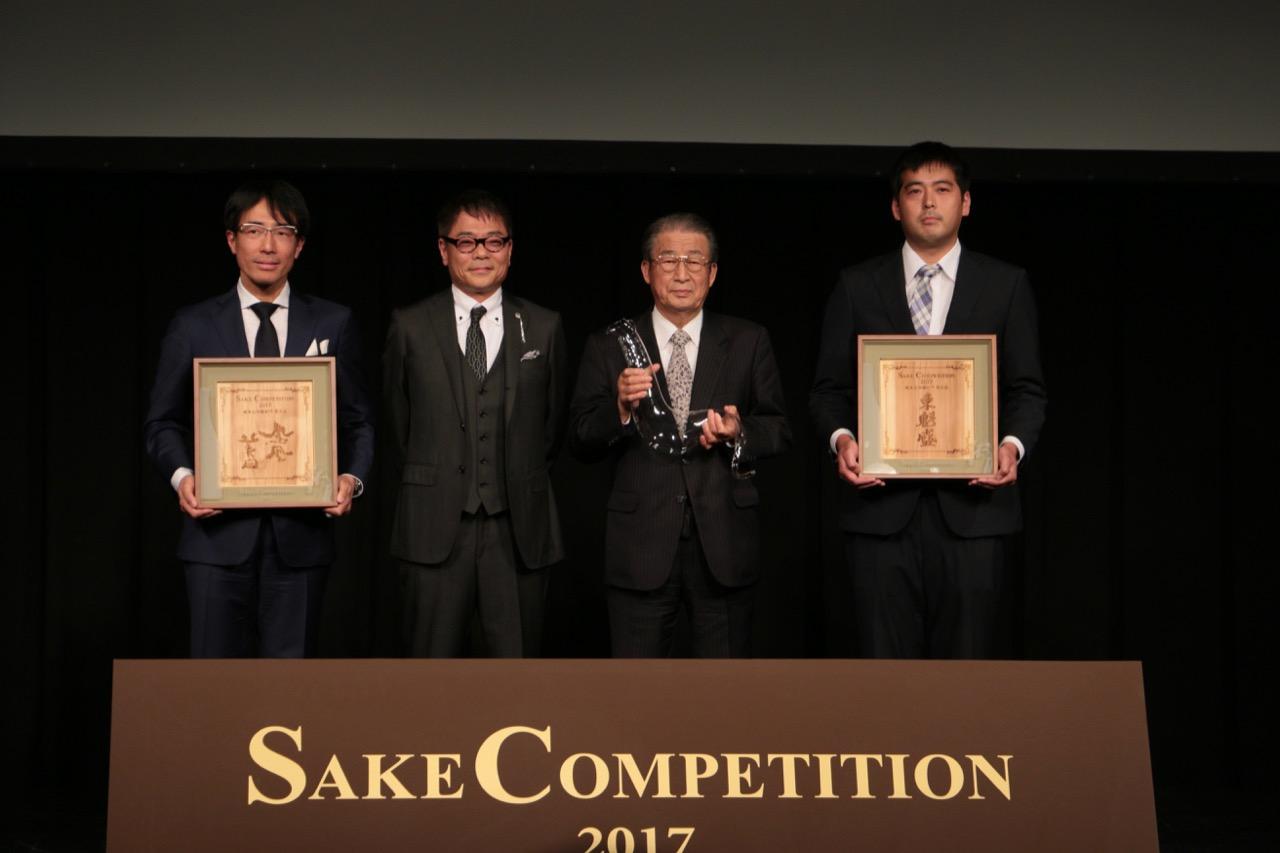 蔵を代表する酒で競う Sake Competition 2017 純米大吟醸部門