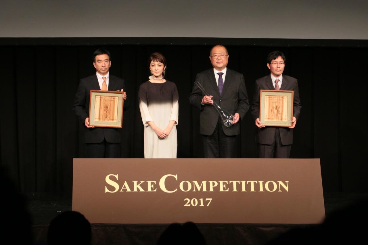 いちばん獲りたい賞 Sake Competition 2017 純米酒部門