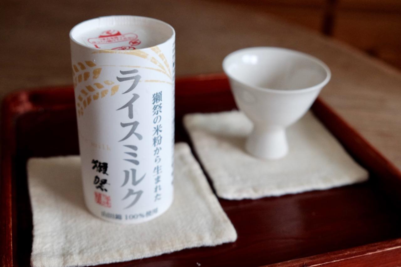 獺祭の米粉から生まれたライスミルク テイスティングノート