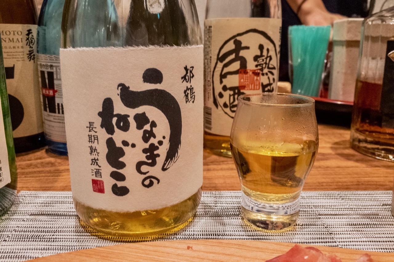 都鶴 うなぎのねどこ 長期熟成酒|日本酒テイスティングノート