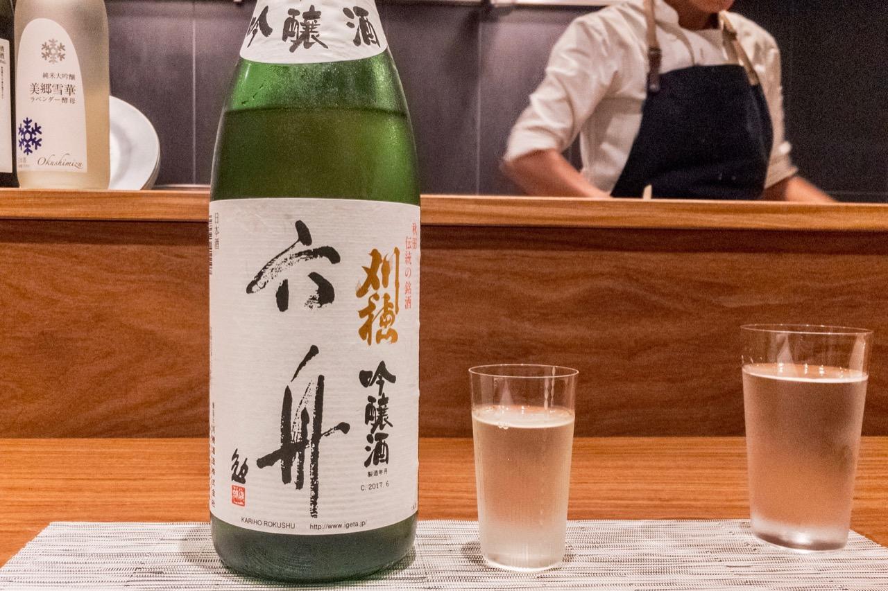 刈穂 吟醸酒 六舟|日本酒テイスティングノート